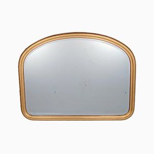Large Vintage Gold Overmantel Mirror