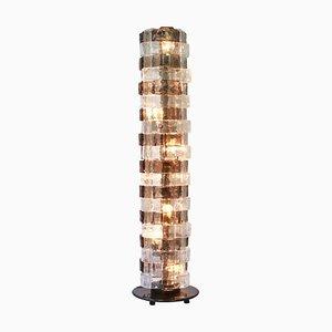 Lámpara de pie de Carlo Nason para Mazzega, años 60
