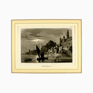 19th Century Marienburg Lithograph from Alexander Duncker