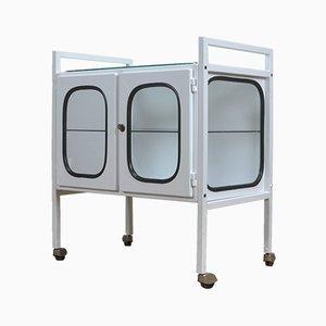 Vintage Medical Trolley Cabinet, 1970s