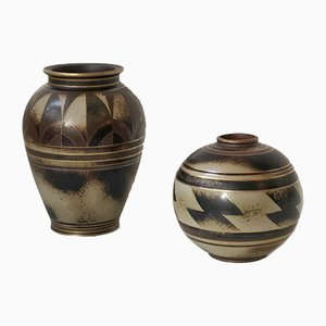 Vases en Grès par Gunnar Nylund pour Rörstrand