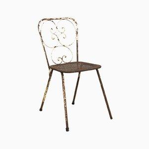 Chaise de Jardin Vintage par Mathieu Matégot