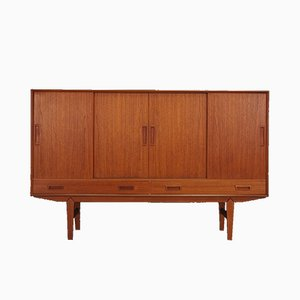 Vintage Danish Teak Highboard from Vemb Mobelfabrik, 1970s