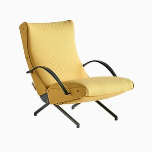 Italian P40 Lounge Chair by Osvaldo Borsani for Tecno, 1950s