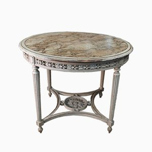 19th Century Marble Top Table, 1850s