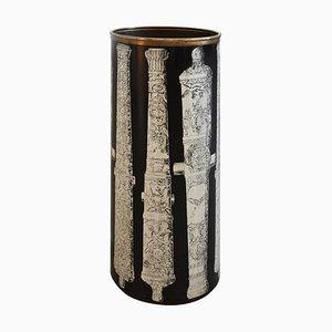 Portaombrelli della serie Cannon di Atelier Fornasetti, anni '60