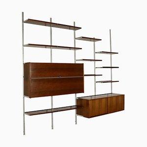 Libreria modulare di Osvaldo Borsani per Tecno, anni '60