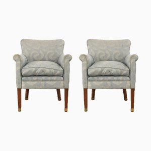 Art Deco Lounge Chairs by Paul Follot, 1930s, Set of 2