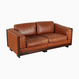 Vintage Leather Sofa by Afra & Tobia Scarpa