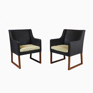 Model 3246 Armchairs by Børge Mogensen for Fredericia, 1963, Set of 2