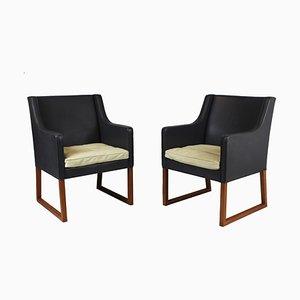 Modell 3246 Sessel von Børge Mogensen für Fredericia, 1963, 2er Set