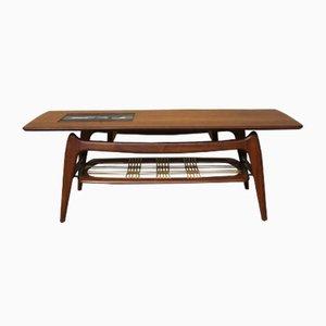 Tavolino da caffè vintage di Louis van Teeffelen per WeBe, anni '60