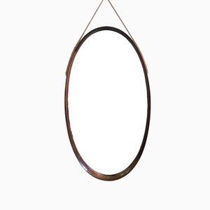 Vintage Spiegel mit Rahmen aus Teak