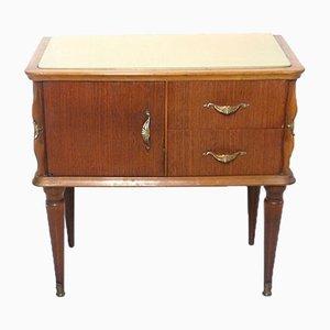 Vintage Italian Bedside Cabinet, 1950s