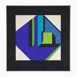 Lithograph by Guy Vandenbranden, 1970s