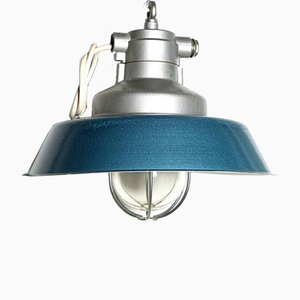Vintage Industrial Pendant Lamp, 1950s