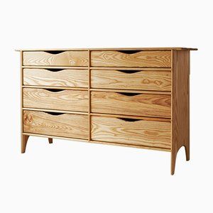 Chest of Drawers in White Ash by Naylor Studio
