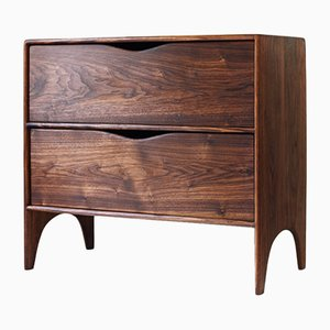 Round Top Two Drawer Cabinet from Naylor Studio