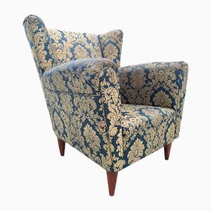 Bergere Style Armchair, 1940s