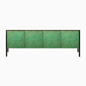 Emerald Four Door Loop Sideboard by Coucou Manou