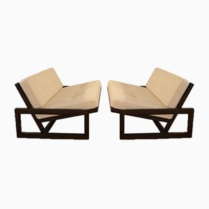 Carlotta Lounge Chairs by Tobia & Afra Scarpa, 1970s, Set of 2