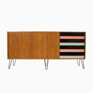 Oak Retro Sideboard by Jiří Jiroutek for Interier Praha, 1960s