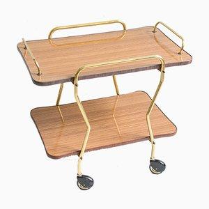 Vintage Formica Bar Cart, 1960s