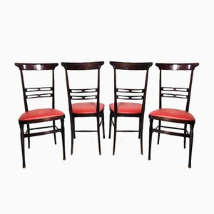 Chiavari Chairs, 1950s, Set of 4