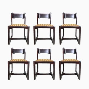 Vintage Chairs by Willy Rizzo, 1970s, Set of 6