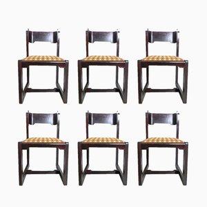 Vintage Stühle von Willy Rizzo, 1970er, 6er Set