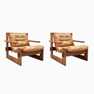 Danois Lounge Chairs, 1970s, Set of 2