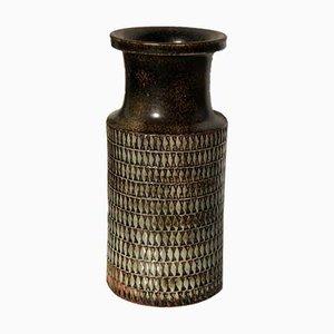 Vase en Grès par Stig Lindberg pour Gustavsberg, 1950s