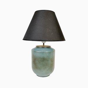 Schwedische Mid-Century Keramik Tischlampe von Gunnar Nylund für Rörstrand