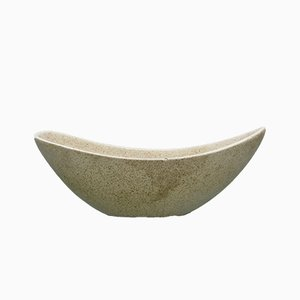 Vintage Keramikschale von Lapid