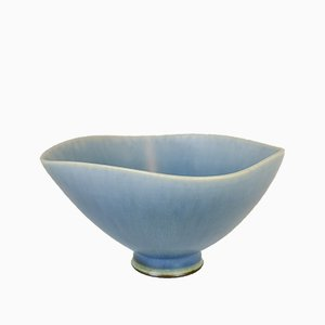 Scandinaivan Modern Studio Bowl by Berndt Friberg for Gustavberg, 1970s