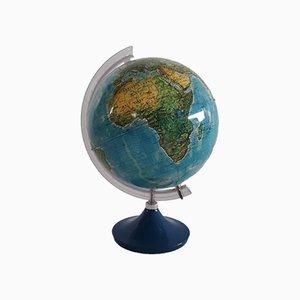 Vintage Italian Illuminated Globe, 1970s