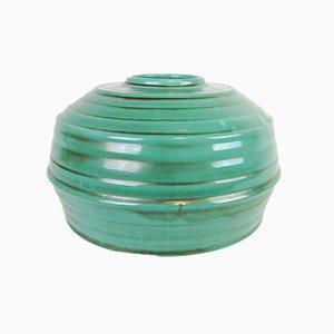 Jarrón o cuenco sueco Art Déco de cerámica de Upsala Ekeby, años 40