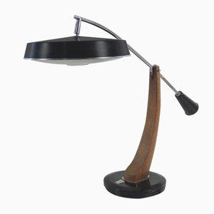 Mid-Century Modell President 520C Schreibtischlampe von Fase, 1950er