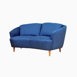 Mid-Century 2-Seater Banana Sofa, 1950s