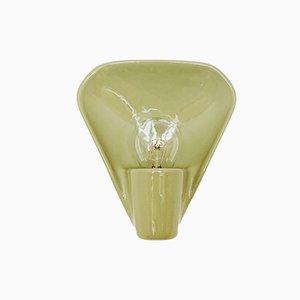 Lampada da parete Systral in ceramica di Wilhelm Wagenfeld per Lindner, anni '50