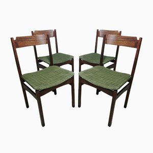 Italian Dining Chairs, 1960s, Set of 4
