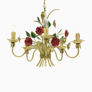Flowered Chandelier, 1970s