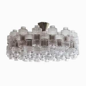 Mid-Century Festival Chandelier by Gert Nyström for Orrefors and Fagerhult