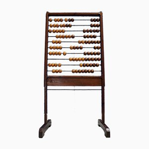 Large Standing Wooden Abacus, 1960s