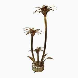 Lampada a forma di palma di Maison Jansen, anni '70