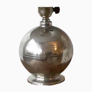 Lampe de Bureau Art Déco en Étain de GAB, 1930s