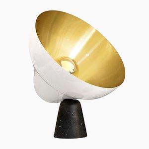 Lampada da tavolo Secondo in ottone nero di Zpstudio