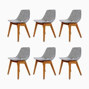 Tonneau Stühle von Pierre Guariche für Steiner, 1950er, 6er Set