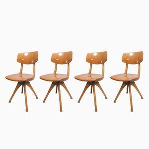 Chaises Pivotantes Vintage de Casala, Set de 4