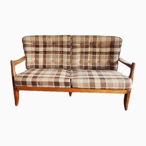 Vintage José 2-Sitzer Sofa von Guillerme et Chambron für Votre Maison, 1965